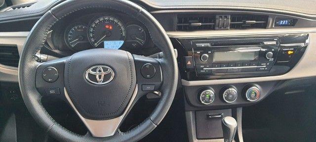 Toyota - Corolla 1.8 G.L.I 2017 Compl - Contato: Tubarão - * - * - Foto 14