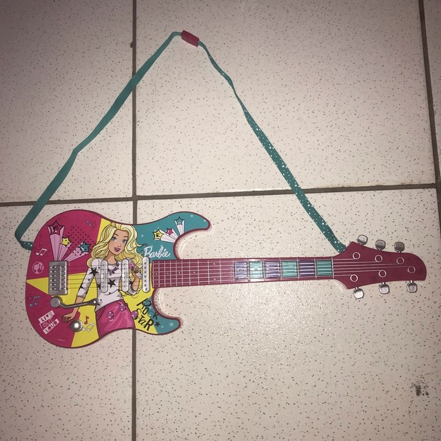 Guitarra Barbie