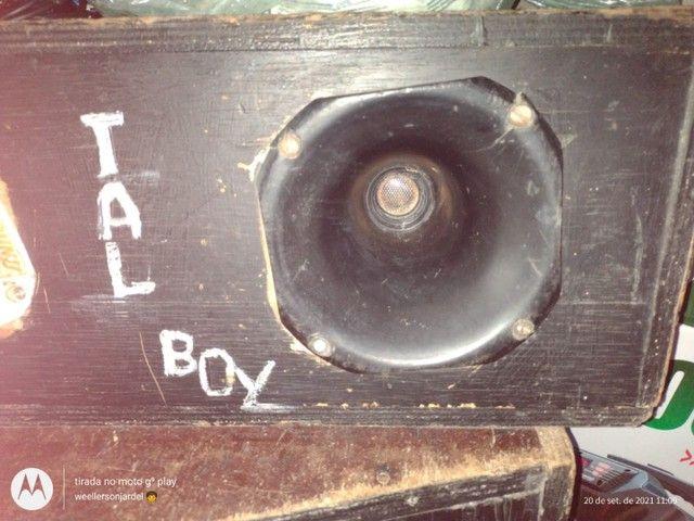 Vendo caixa de som montado leia a discricao - Foto 5