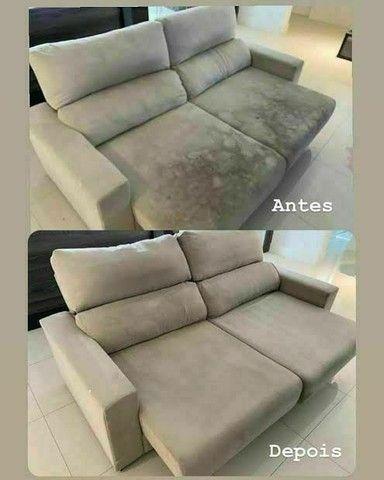 Lavagem a seco de sofá e colchão - Foto 4