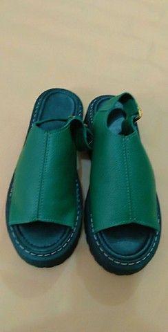 Sandálias de couro - Foto 6