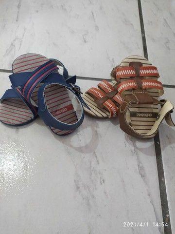 Sandálias Pimpolho Bebê - Foto 2