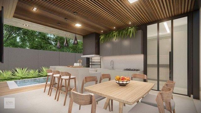 Casa com 3 dormitórios à venda, 200 m² por R$ 1.600.000,00 - Alphaville 3 - Campo Grande/M - Foto 6