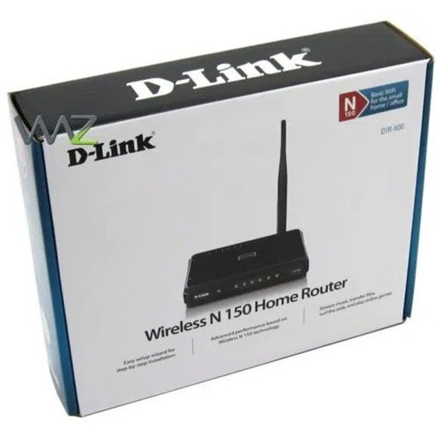Rotaador Wireless N 802.11b/g 150mbps D-Link N 150  DIR-600Roteador - Novo - Foto 4