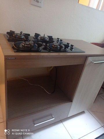 Fogão Cooktop com móvel
