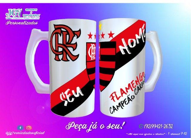 Caneca de Chopp Flamengo - Foto 2