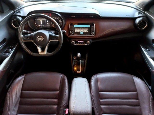 Nissan Kicks 1.6 SL  Automático CVT 2018 com interior marrom Extra! - Foto 12