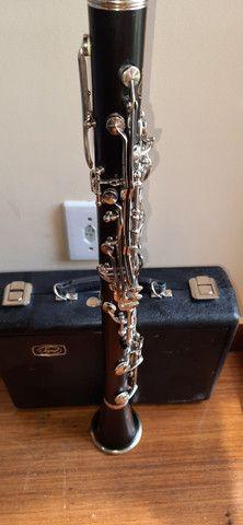 Clarinete Madeira Ébano Selmer Signet 100 Si Bemol 17 Chaves  - Foto 4