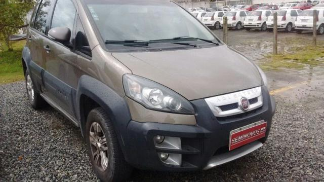 FIAT IDEA ADVENTURE 1.8 16V FLEX CINZA 2010/2011