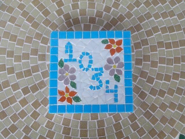 Numero placa mosaico residencial - Foto 4