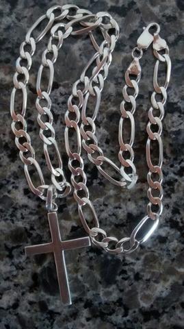 Vendo colar de prata $330