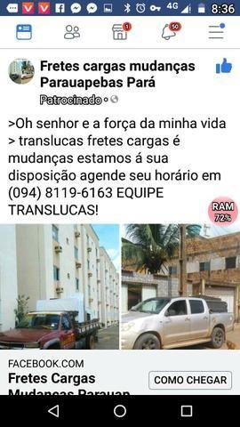 Frete e mudanças toda região maraba são Luís Belém do Pará?