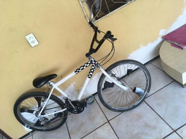 Vendo ou troco bike com marcha