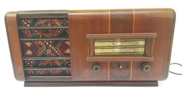 Rádio Antigo Valvulado Broadcast