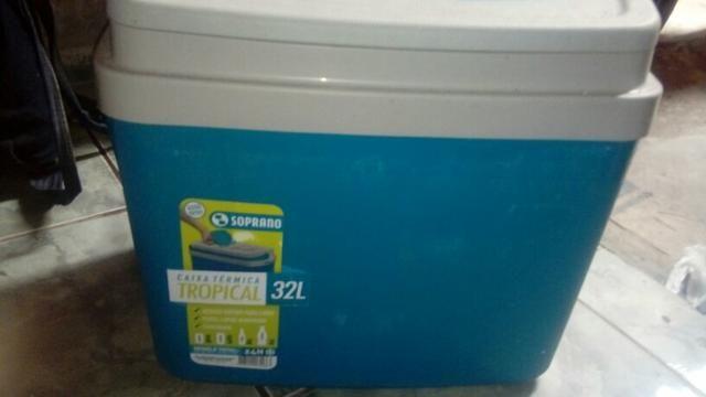 2 caixa térmica novinha