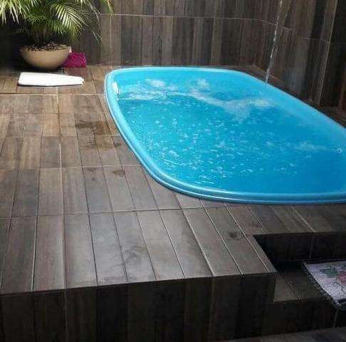 Promoção de São Joao piscina 4 metros completa e instalada com mensais sem entrada