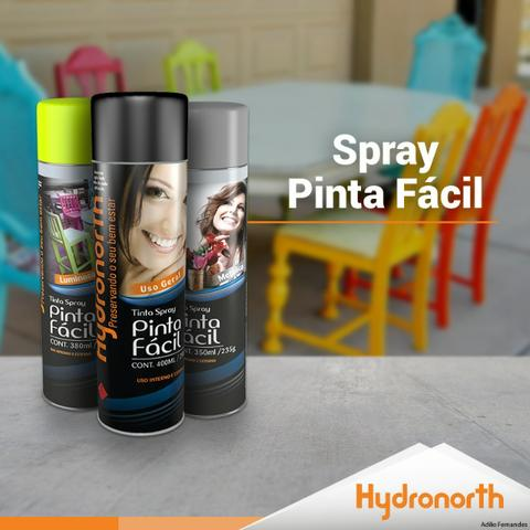 Spray Diversas cores 400ml para Metais, madeiras, etc
