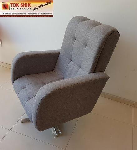 Cadeira de escritório com giratório de metal CD1000