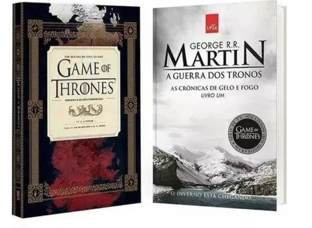 a542c2a41 Livro Guia Hbo Game Of Thrones + Guerra Dos Tronos - Livros e ...