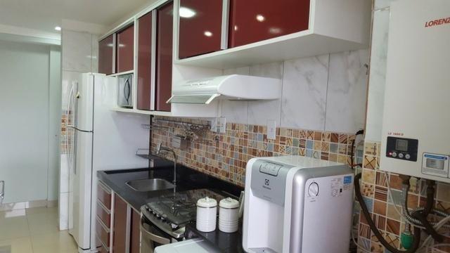 Apartamento com 3 dormitórios _sendo 1 suíte_todo no porcelanato_mais de 40 ítens de lazer - Foto 2