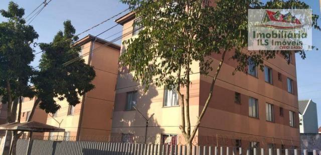 Apartamento com 2 dormitórios à venda por r$ 139.000 - sítio cercado - curitiba/pr - Foto 4