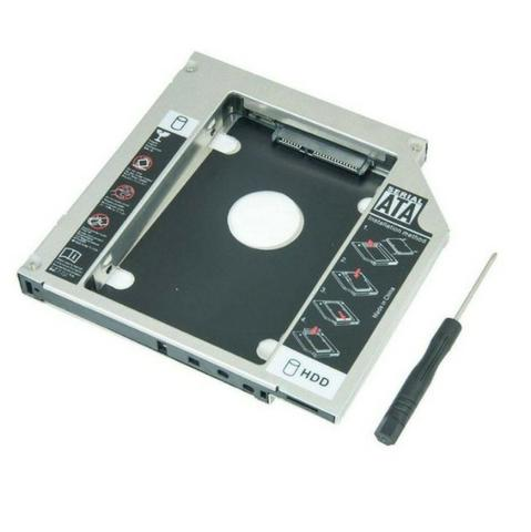 "Adaptador Caddy De 12,7 MM ou 9,5MM Para Hd Sata 2,5"" Ou SSD Exbom Hdca-s127 - Foto 2"