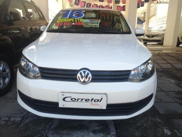 Vw- Volkswagen - Gol City 1.0 Flex Carro Extra - Financio 81- * - Foto 7