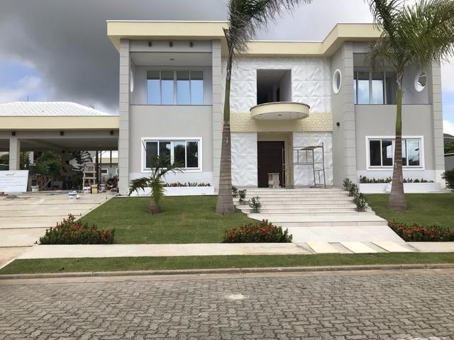 Mansão exclusiva no Alphaville Fortaleza, 1080m, 7 suítes em 2 lotes