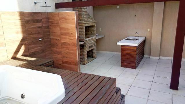 Cobertura na Maraponga, 3 quartos, sendo 2 suítes, deck, churrasqueira e Jacuzzi, 2 vagas - Foto 6