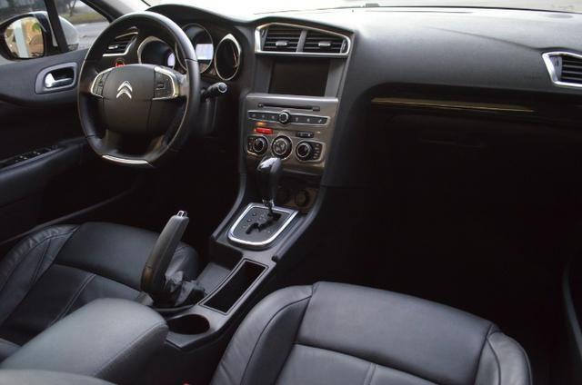 C4 lounge 1.6 turbo flex 4p automático *top de linha*único dono*imecável - Foto 10