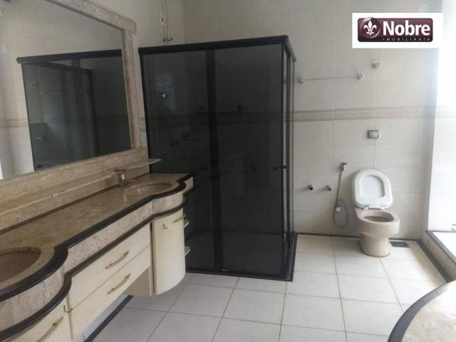 Sobrado com 4 dormitórios para alugar, 289 m² por r$ 3.520/mês - plano diretor sul - palma - Foto 13