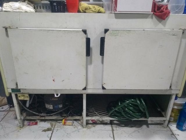 Vendo Freezer com Estufa aquecedora superior