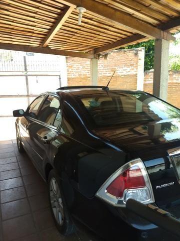 Ford Fusion 2.3 SEL 16V Gasolina Preto 4P Automático e Teto Solar - Foto 7