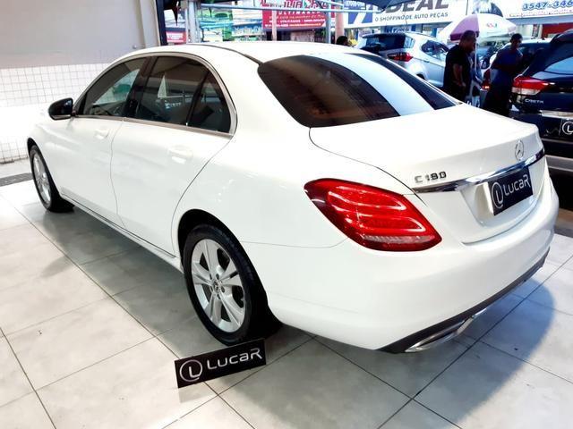 Mercedes benz c180 2017 comp+ couro+autom motor 1.6 2020 vistoriado - unico dono - Foto 4