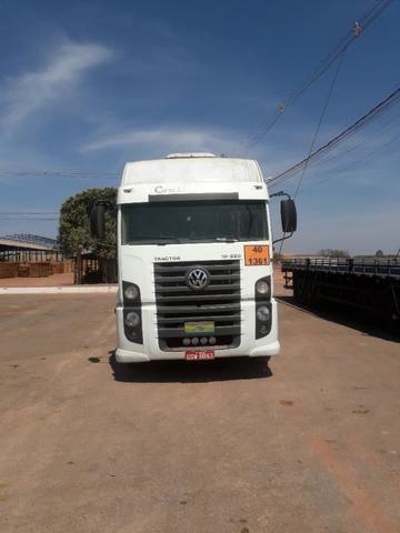 Vendo conjunto vw 19-320 mais carreta 3 eixos - Foto 10