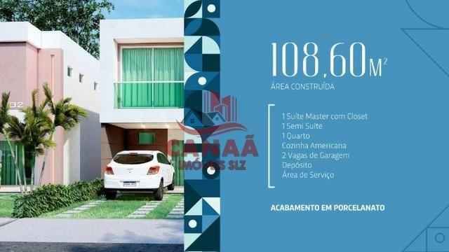 O Sonho do Novo Lar | Casas Duplex c/ 3 qtos | Acabamento no Porcelanato - Foto 6