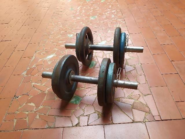 Halteres de 24kg usados. - Foto 2
