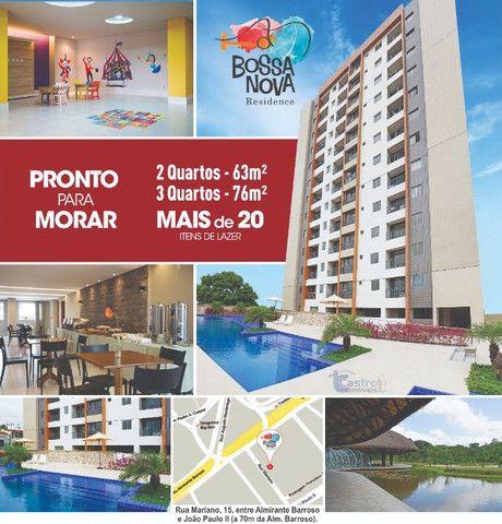 18_ Bossa Nova Residence. 3/4. 1 Suíte. 1 Vaga.