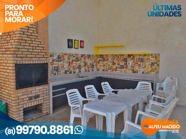 Apartamento de 1 quarto no Muro Alto Condomínio Clube em Porto de Galinhas - Foto 10