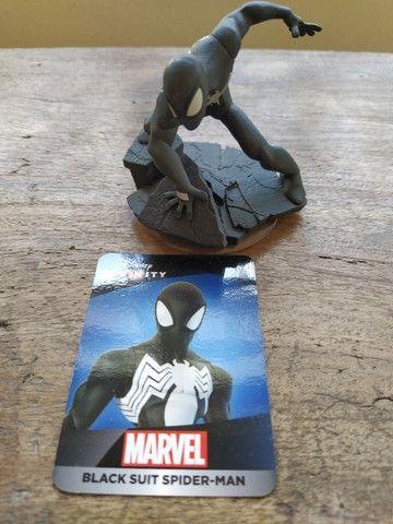 Boneco Black Suit Spider-Man