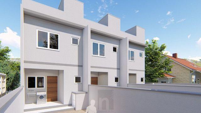 Casa Geminada com passagem lateral na Limeira, Brusque-SC - Foto 6