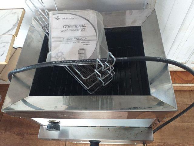 Fritadeira 30 ltrs água e oleo