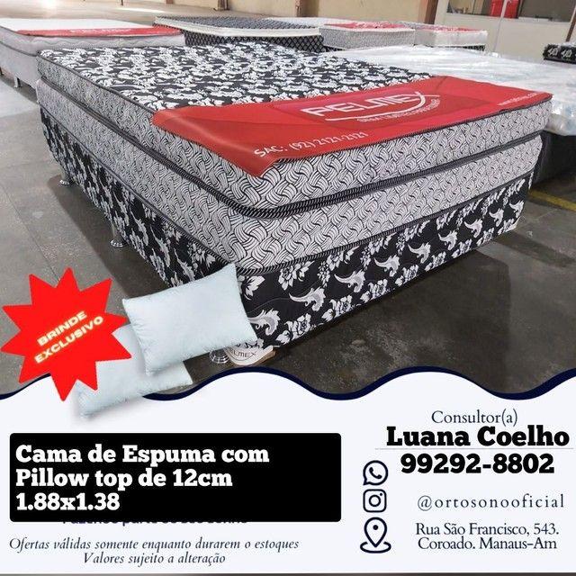 Cama Box Espuma /// cama box