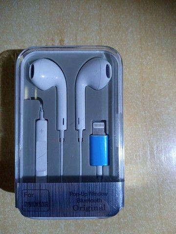 Fone novo para IPhone novo compatível.  - Foto 2
