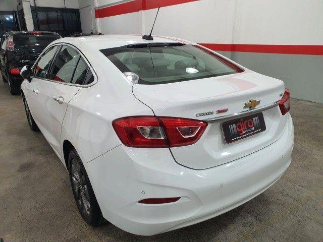 gm/cruze sedan ltz 1.4 turbo,ano 2018,u.dono,top de linha,branco,impecavel, sem detalhes - Foto 4