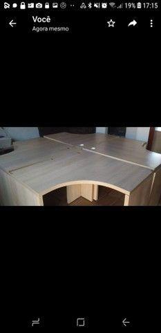 Vendo 4 mesas para escritório  - Foto 4