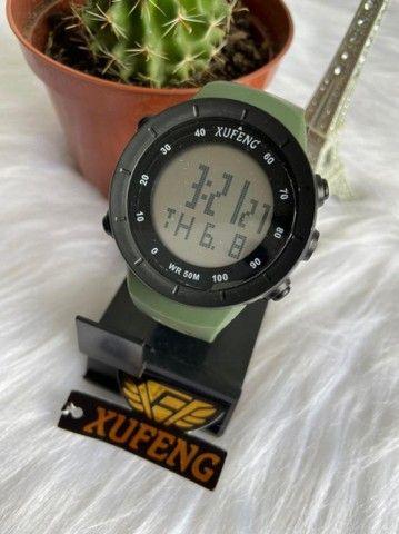 Relógio digital xufeng Prova d'água caixa média  - Foto 2