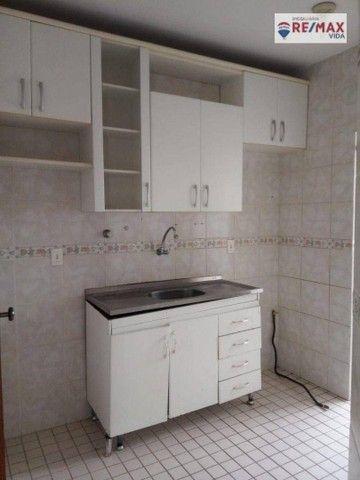 Apartamento com 2 dormitórios para alugar, 58 m² por R$ 1.200,00/mês - Imbuí - Salvador/BA - Foto 3