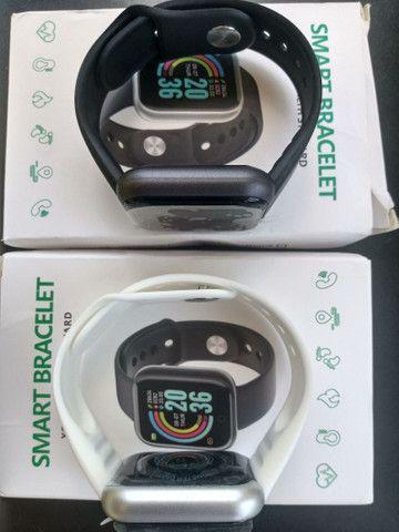 Smartwatch Relógio Inteligente Y68 D20Promoção/Compatível Com Android e IOS PRETO - Foto 5