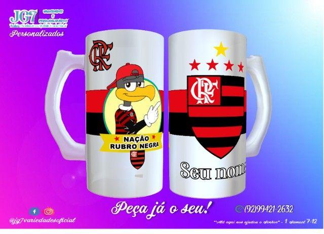 Caneca de Chopp Flamengo - Foto 3